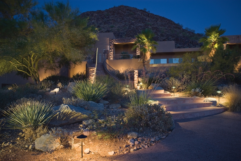 Exterior Lighting Installation in Las Vegas & Exterior Lighting Installation Las Vegas | Patio Walkway Porch ... azcodes.com